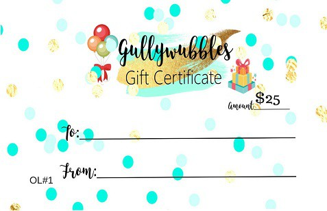 $25 Gift Certificate Image