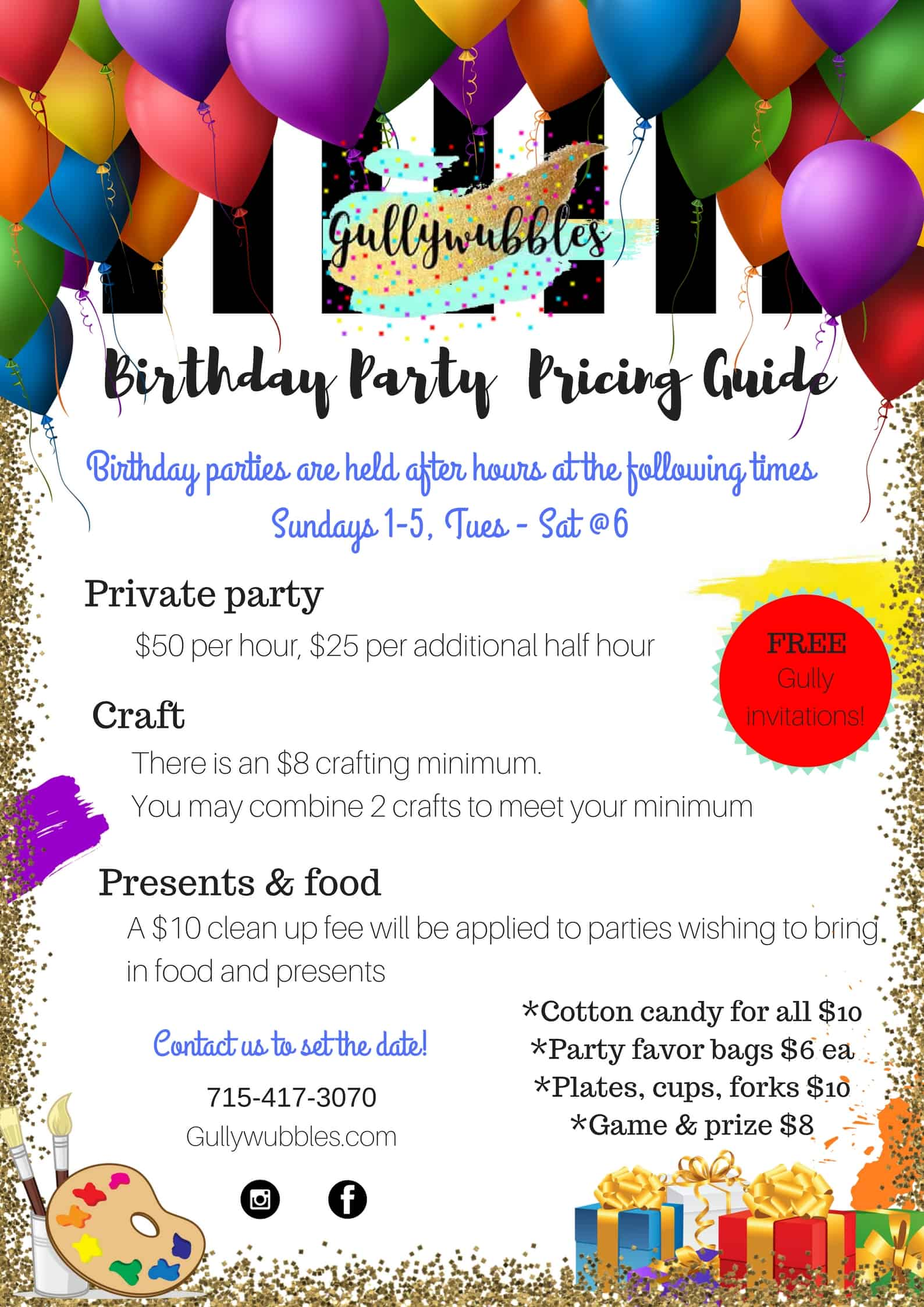 83+ Arts And Crafts Birthday Party Ideas - Arts And Crafts Birthday ...