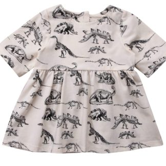 dinosaur, baby, dress, girls, kids, clothing