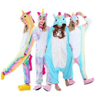 unicor, sleeper, onesie, adult, rainbow