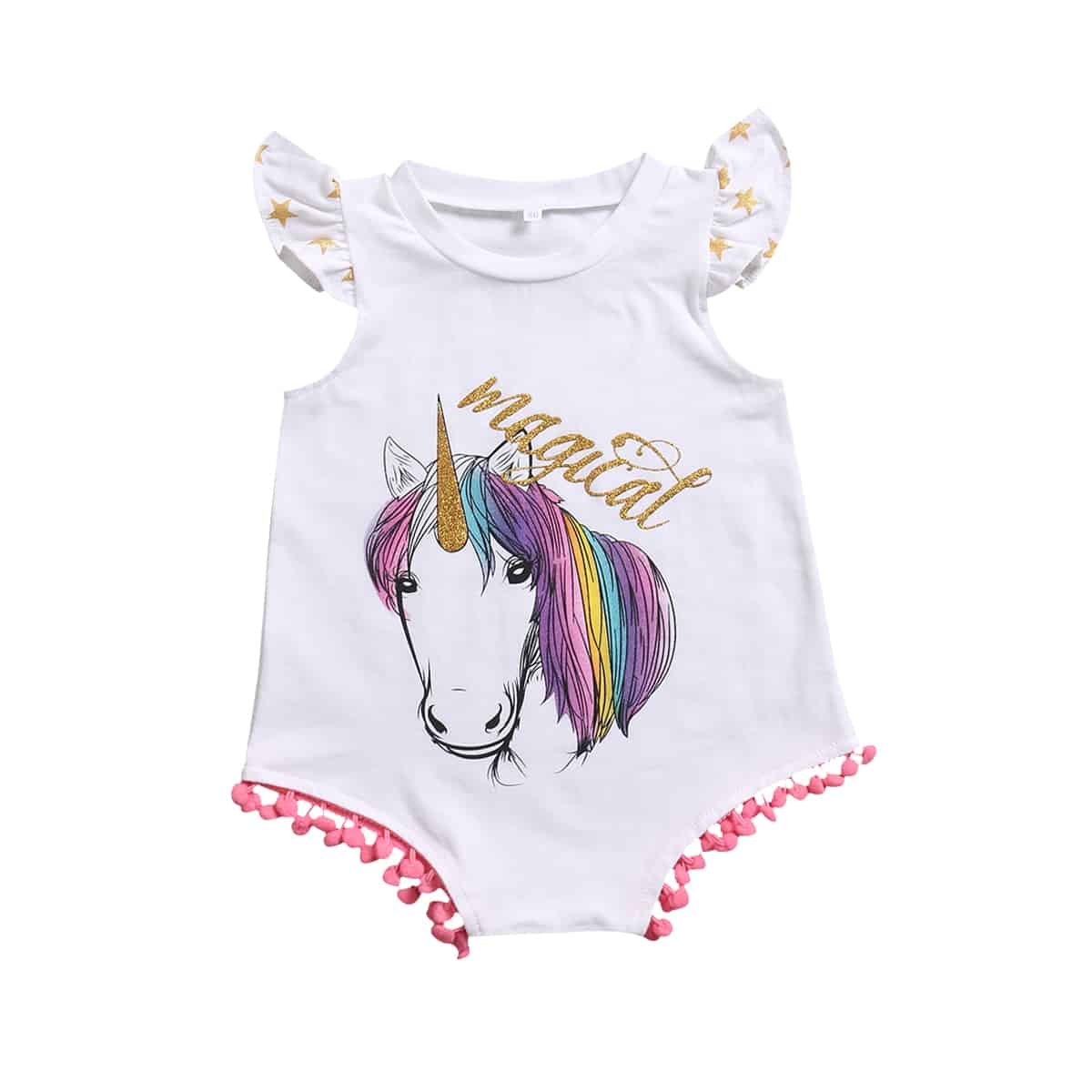 de6e3a0d0 Unicorn sibling sister set tank top and onesie romper | Gullywubbles