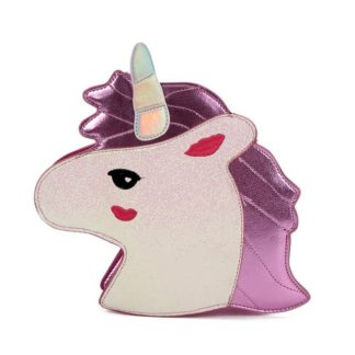 unicorn, cross body, purse, bag, girls, kids