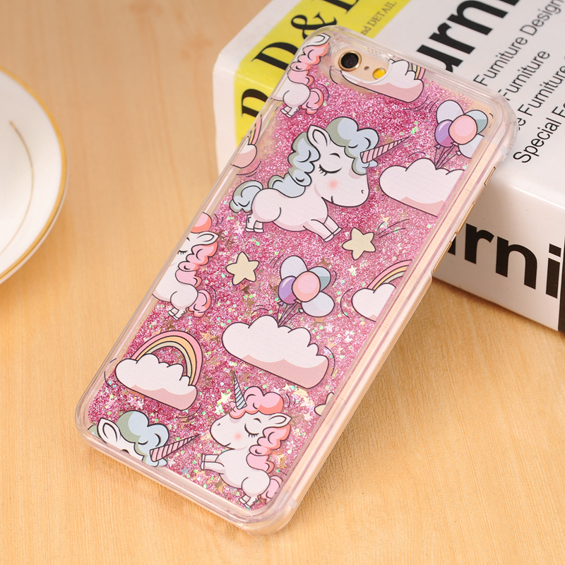 buy online 8bc09 3f822 Glitter and unicorns phone case available in 7 colors
