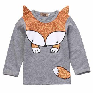 FOX, SHIRT, BOY\S,0 ANIMAL, 3D