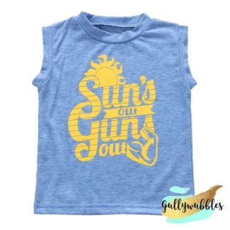 suns, out, guns, out, toddler, boys, muscle, t-shirt