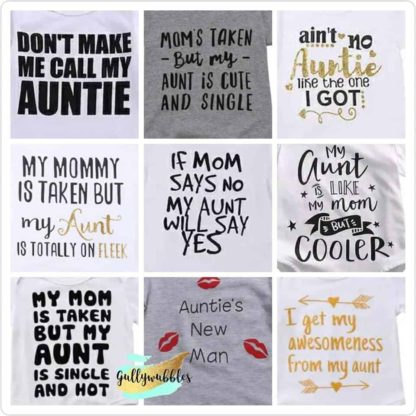 gullywubbles, aunt, auntie, onesies, funny,