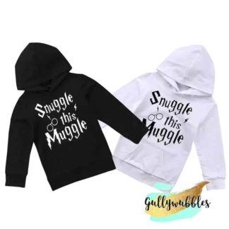 snuggle this muggle, harry potter, gullywubbles, sweatshirt