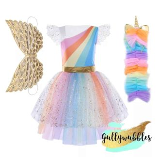 unicorn, rainbow unicorn costume, unicorn costume, girls unicorn, girls costume, girls rainbow unicorn costume