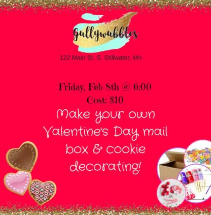 valentinesday party, stillwater mn, craft studio, art studio, twin cities, kids events, family fun