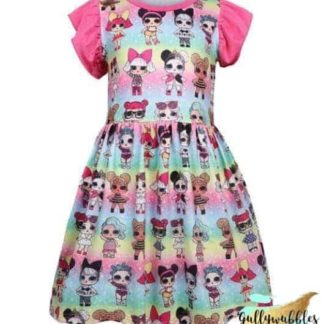 lol, lol doll, lol doll dress, lol surprise, lol surprise dress, lol doll surprise dress, lol girls dress, lol surprise girls, lol surprise clothing