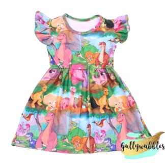 land-before-time-dress-dinosaur-dress-girls-dinosaur-dress-1980s-nostalgia-1980s-cartoons-toddler-baby-girls-gullywubbles-boutique-clothing